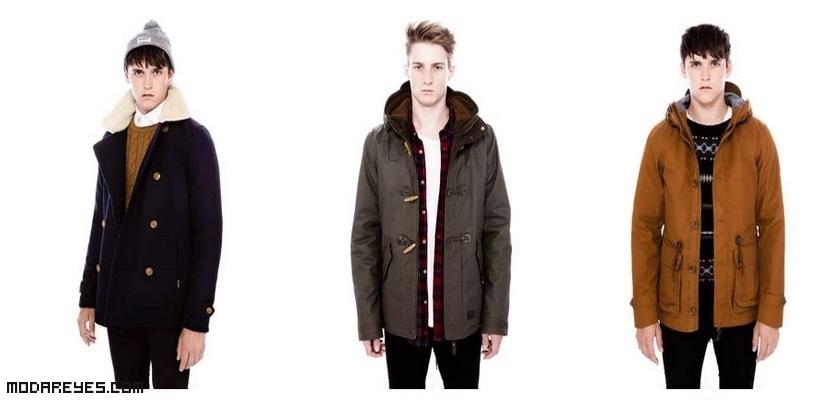 abrigos en colores de moda para hombre