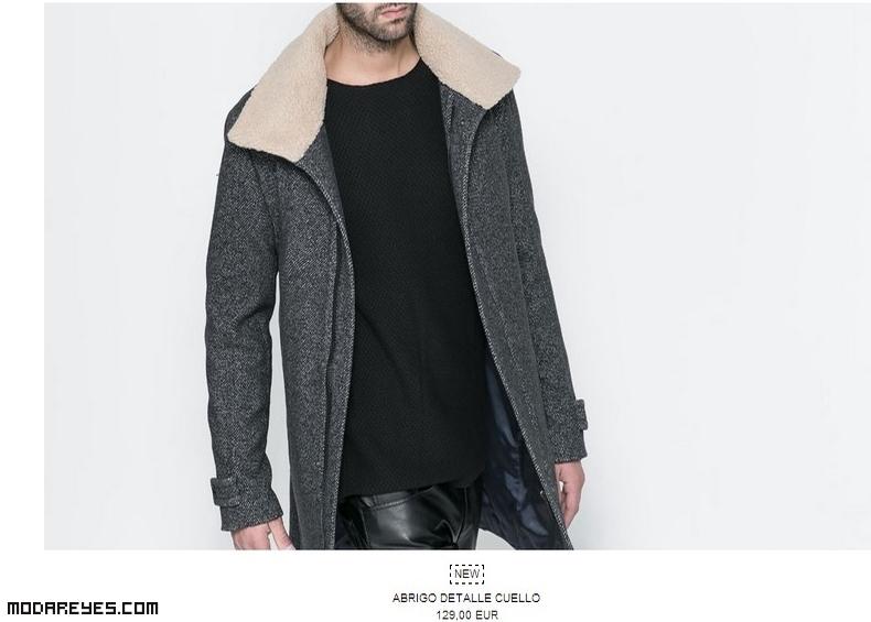 abrigos de paño y pelo a la moda