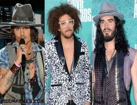Hombres en la MTV Movie Awards 2012