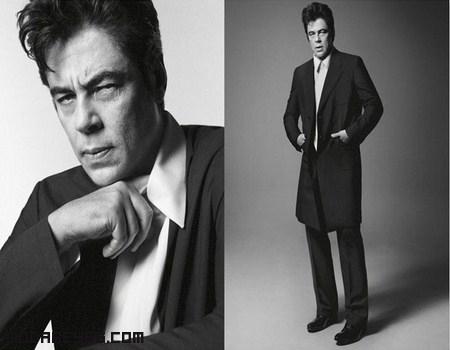 Moda Prada con famosos actores