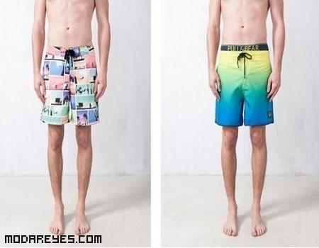 bañadores de colores para hombre