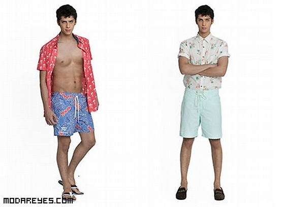 camisas estampadas de moda