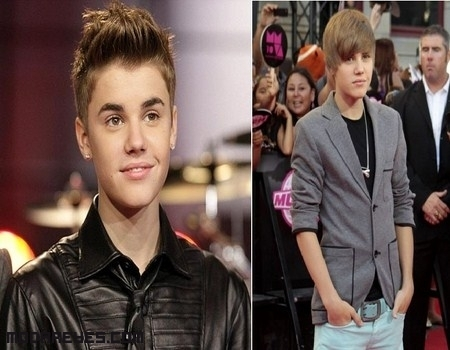 Cambios de look en Justin Bieber