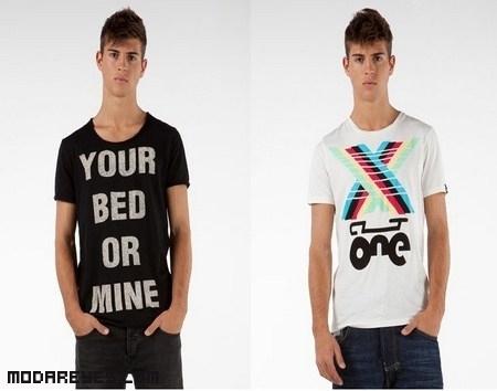 Camisetas originales de Bershka
