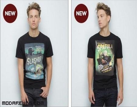 camisetas de moda para hombre