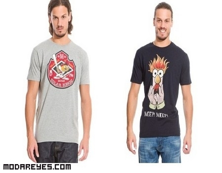 Divertidas camisetas The Muppets