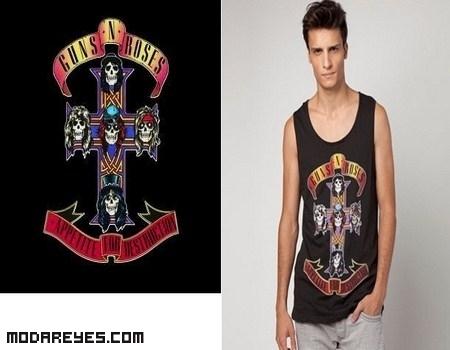 Nuevas camisetas de bandas rockeras