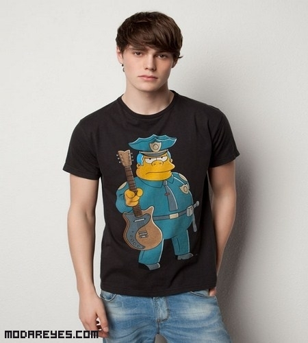 Camisetas Los Simpson de Pull and Bear