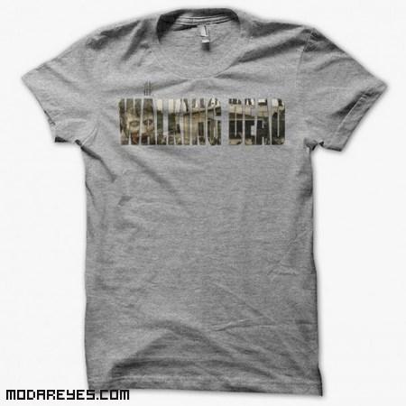 Camisetas grises de moda