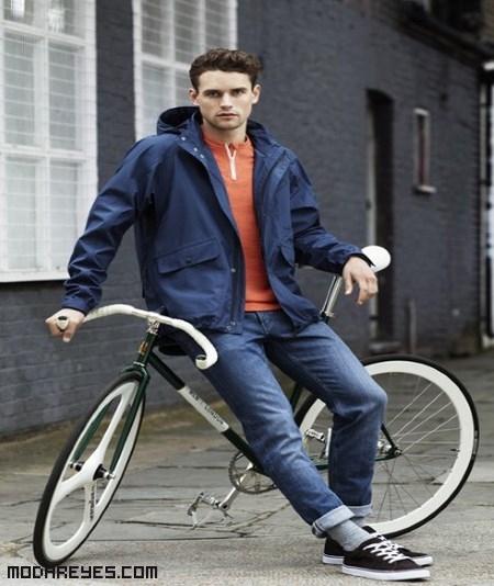 Chaquetas de colores para ir en bici