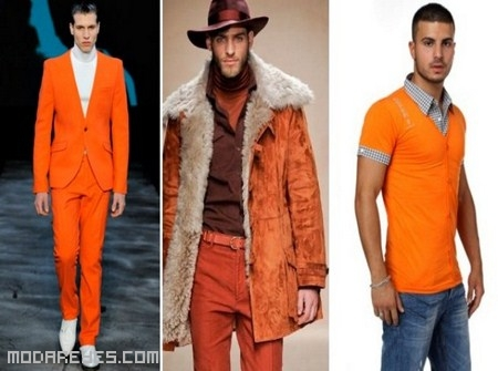 Color de moda para ellos