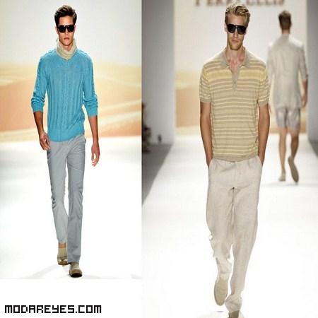 Moda masculina verano 2012