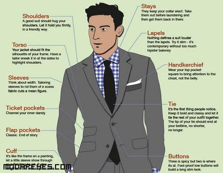 trajes para hombres modernos