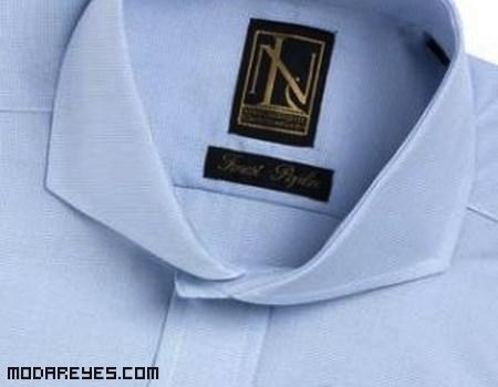 Cuellos de camisa de moda