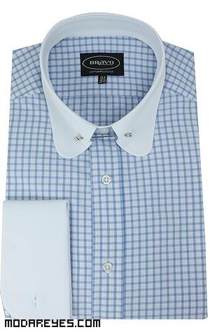cuellos de camisa clásicos