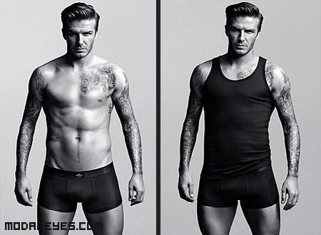 David Beckham diseña y posa para H&M