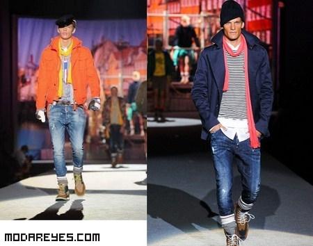 Moda en colores para hombres