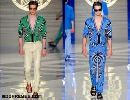 Moda Versace para este 2012