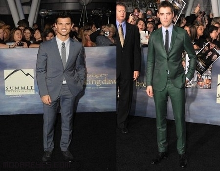 Robert Pattinson y Taylor Lautner, de estreno