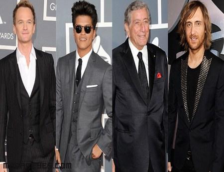 Estilismos en los Grammy 2012