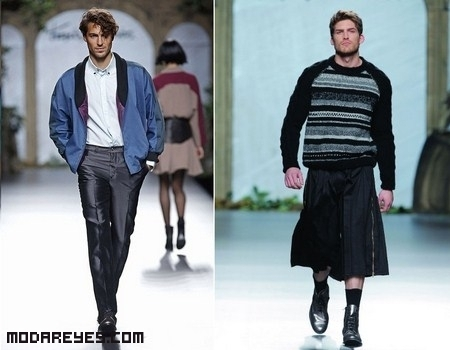 Francis Montesinos en la Mercedes Fashion Week