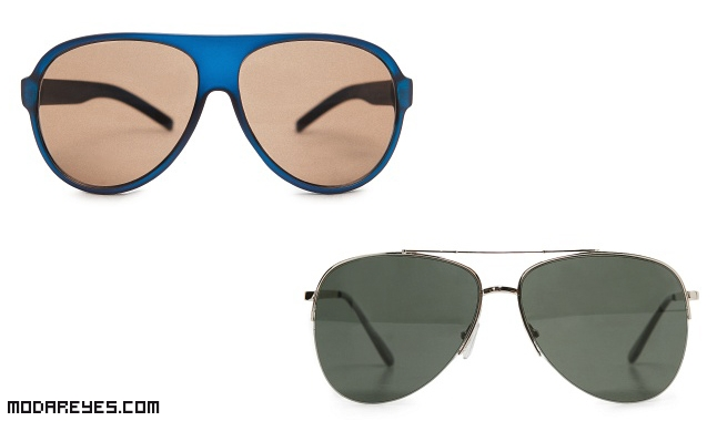 gafas en color azul para hombres