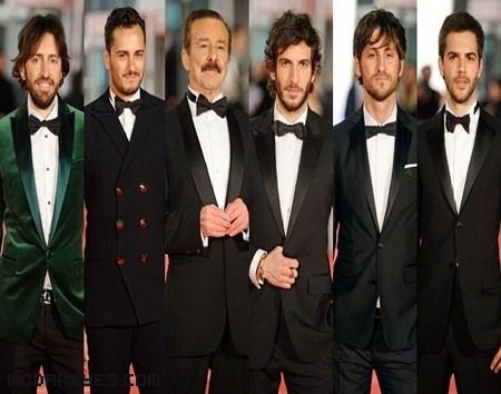 Los hombres en los Goya 2012