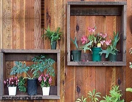 Un poco de bricolaje:recicla cajones de madera