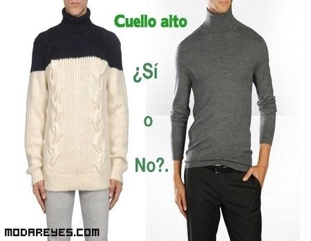 Jersey de cuello alto, ¿comodidad o angustia?.