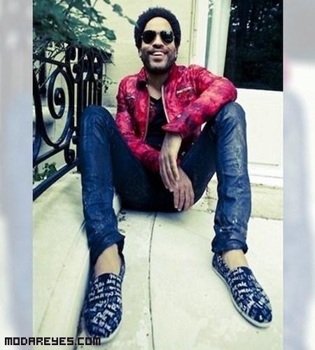 Lenny Kravitz diseña unas zapatillas