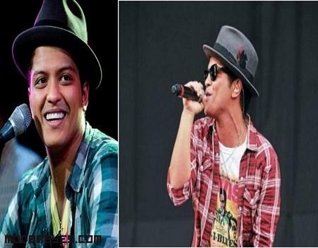 Copia el estilo de Bruno Mars