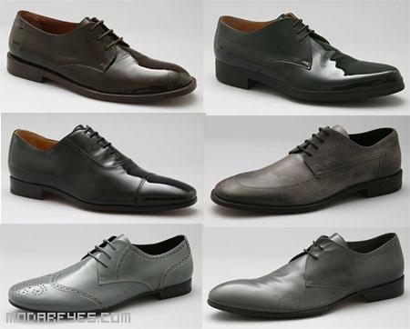 Zapatos con cordones formales e informales