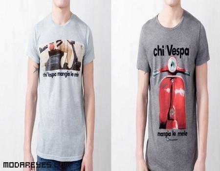 Camisetas con toque vintage de Pull & Bear