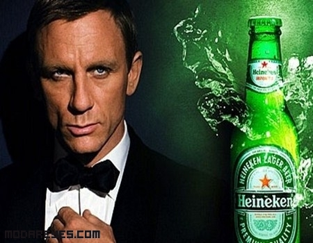Heineken y James Bond
