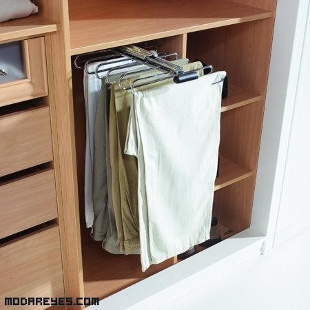 Pantaloneros para ahorrar espacio