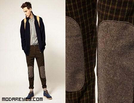 Pantalones con rodilleras