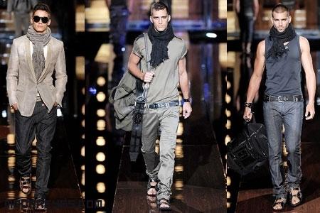 Pañuelos de moda para hombres