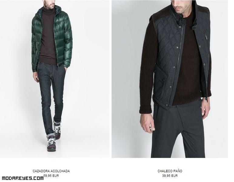 cazadoras acolchadas de moda