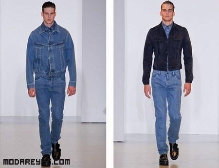 Calvin Klein 2013, un estilo clásico con prendas vaqueras