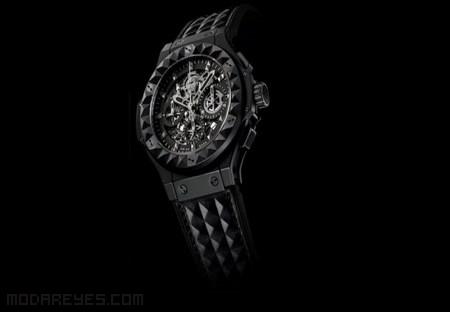 Relojes de hombre cerámica negra