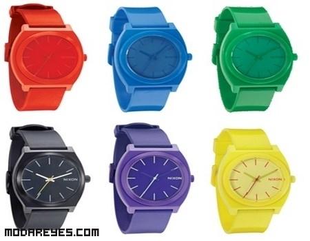 Relojes para hombres de colores