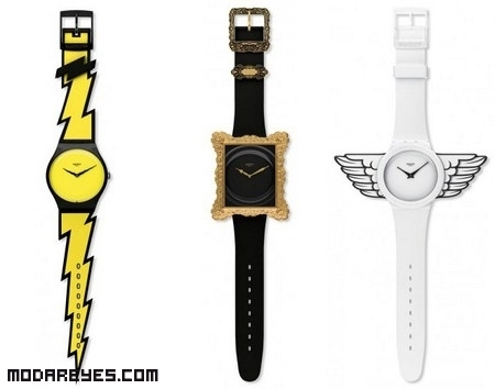Relojes modernos por Jeremy Scott