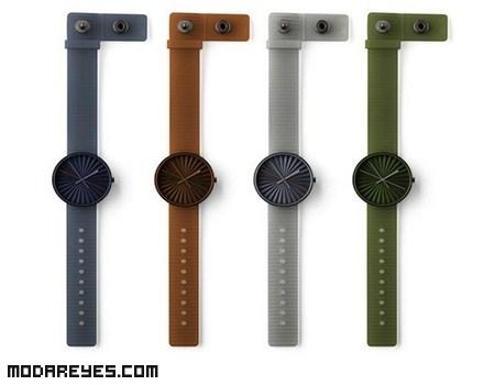 Relojes originales de Benjamin Hubert