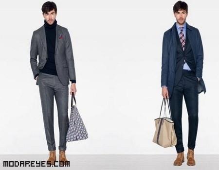 trajes de hombre a la moda