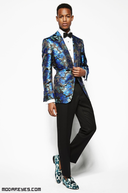 trajes modernos para hombre