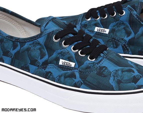 zapatillas azules Vans