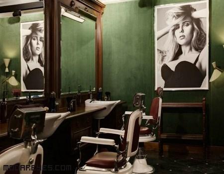 barberías de moda