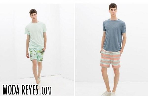 Bermudas de Zara a todo color