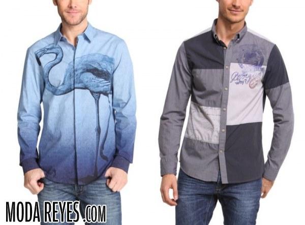 Camisas Desigual para otoño 2014