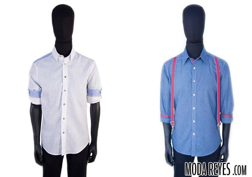 camisas edgar manga corta
